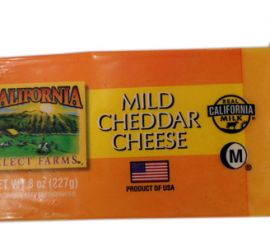 PHÔ MAI MILD CHEDDAR HIỆU CALIFORNIA SELECT FARMS