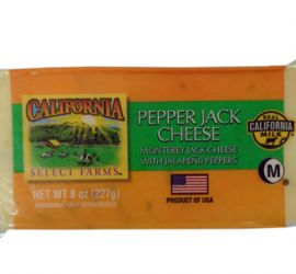 PHÔ MAI PEPPER JACK HIỆU CALIFORNIA SELECT FARMS